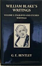 Writings, Vol. I by William Blake