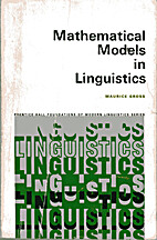 Mathematical Models in Linguistics…
