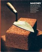 Masonry by Time-Life Books
