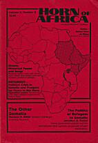 Horn of Africa - An Independent Journal -…