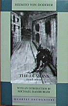 The Demons: Pt.2 by Heimito von Doderer