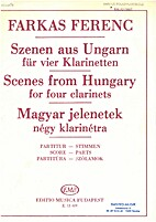 Scenes from Hungary for four clarinets by…