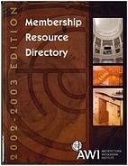 Architectural Woodwork Institute Membership…
