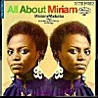 All About Miriam [sound recording] by Miriam…