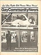 Gay Community News (Volume 14, Number 41)…