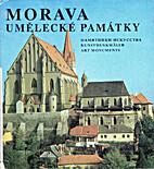 Morava-umělecké památky by AA. VV.