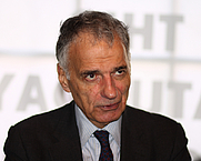 Author photo. Ralph Nader. Photo by Sage Ross.