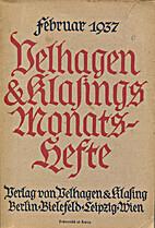 Monatsheft Februar 1937 by Various