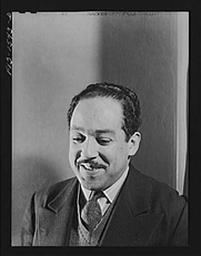 Author photo. Langston Hughes (1902-1967) Photography by Jack Delano, april 1942. (Farm Security Administration - Office of War Information Photograph Collection, Library of Congress)