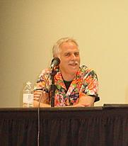 Author photo. Translation panel, Otakon 2003, by Lampbane