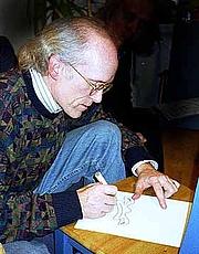 Author photo. Credit: J-E Nyström, 1999, Helsinki