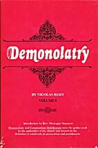 Demonolatry by Nicolas Remy