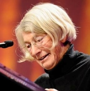 Author photo. Mary Oliver in 2010.