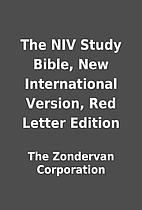 The NIV Study Bible, New International…