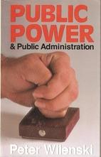 Public Power & Public Administration by…