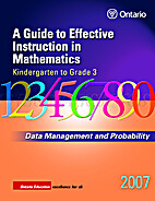 Data Management and Probability, Grades K-3…