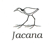 Author photo. Jacana logo