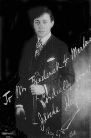Author photo. Violin Mastery, Talks with Master Violinists and Teachers (Frederick Martens, 1919) <BR>Project Gutenberg