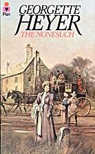 The Nonesuch by Georgette Heyer
