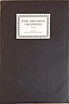 Type specimen facsimiles 1-15