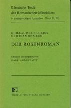 Der Rosenroman, Bd. 3 by Guillaume de Lorris