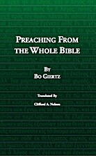 Preaching from the whole Bible;: Background…