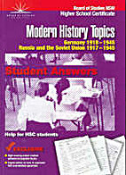 Modern history topics : HSC student answers…
