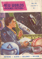 New Worlds Science Fiction 61, July 1957 by…