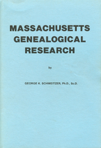 Massachusetts Genealogical Research by…