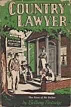 Country Lawyer by Bellamy Partridge