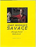 John Bodeker Savage, 1928-1986 : a Georgia…