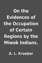 On the Evidences of the Occupation of…