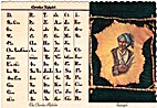 The Cherokee Alphabet Sequoyah