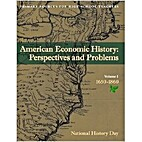 American Economics History: Perspectives and…