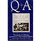 Q + A: Trivia Fever's Book of Questions and…