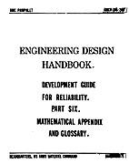 Engineering Design Handbook: Statistics by…