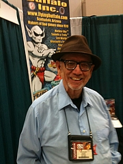 Author photo. Game designer Ken St. Andre at Gen Con Indy 2014 on August 15, 2014.