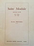 Modale Suite by Flor Peeters