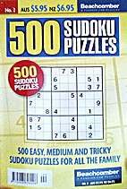 500 Sudoku Puzzles: Issue 2