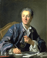 Author photo. From <a href=&quot;http://en.wikipedia.org/wiki/Image:DiderotVanLoo.jpg&quot;>Wikimedia Commons</a>