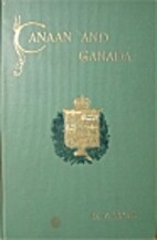 Canaan and Canada by D. V Lucas