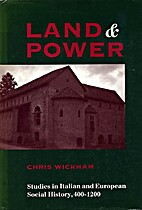 Land and power : studies in Italian and…