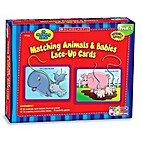 Matching Animals & Babies Lace-Up Cards by…