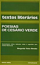 POESIA by Cesário Verde