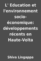 L' Education et l'environnement…