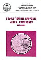 L'Evolution Des Rapports Villes _ Campagnes…