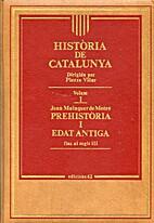 Història de Catalunya by Joan…