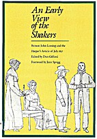 An Early View of the Shakers: Benson John…