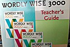 Worldy Wise 3000 Teacher's Guide for Books…