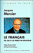 Le français tel qu'il se parle en Belgique…